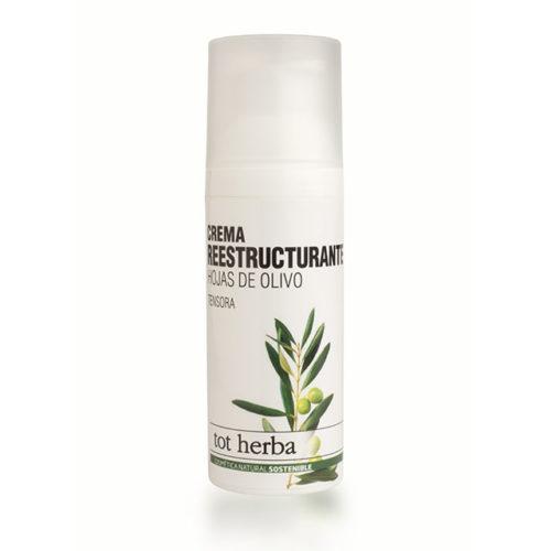 crema reestructurante hojas de olivo