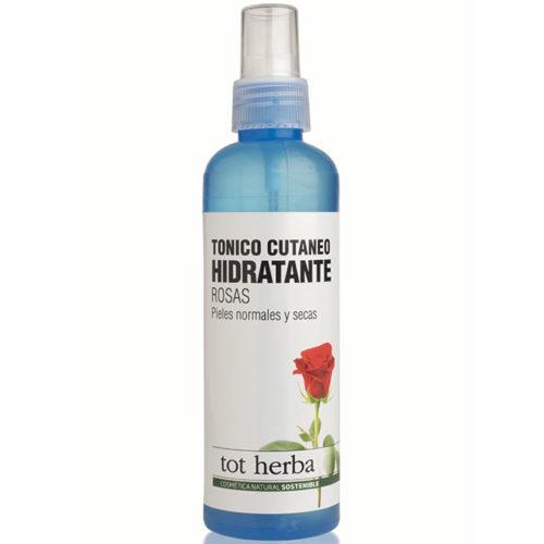 tónico cutáneo hidratante rosas tot herba